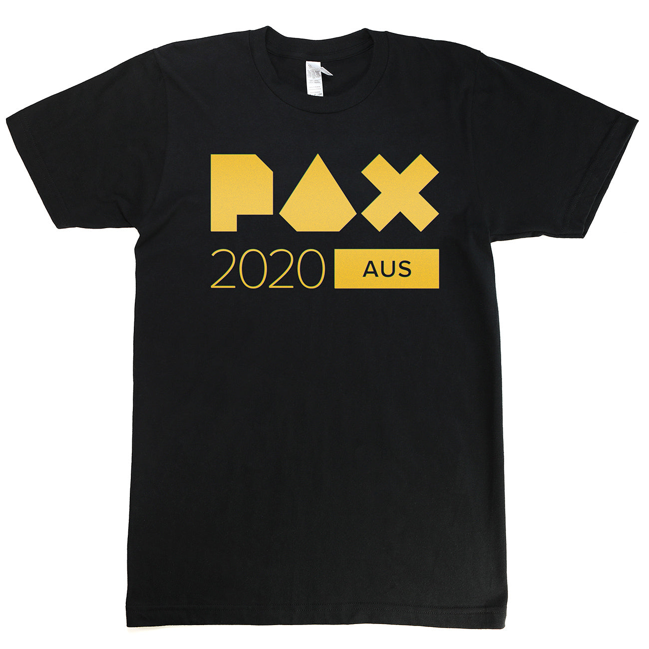 PAX Aus 2020 Black Fitted Show Tee