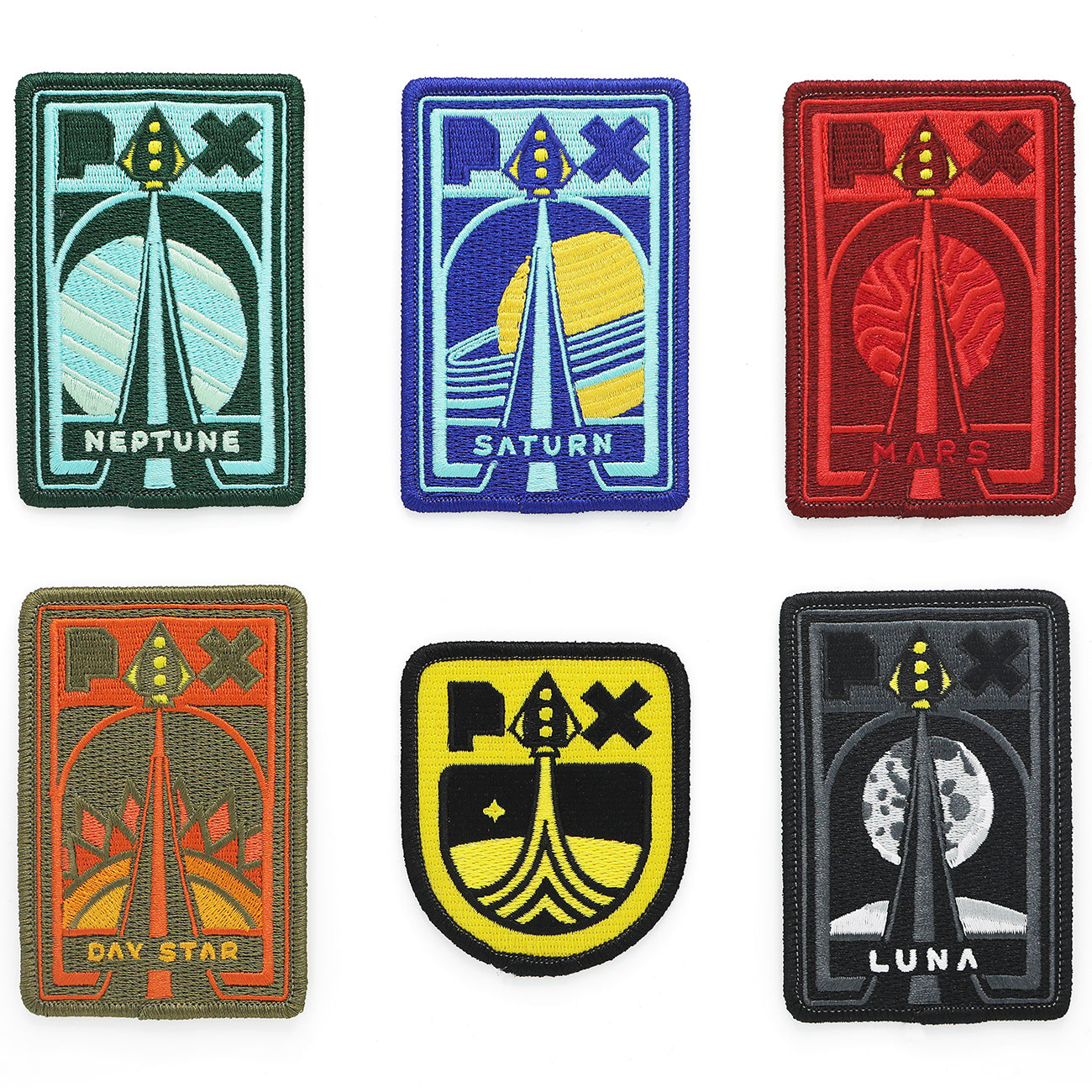 PAX Explorers League Patch Set