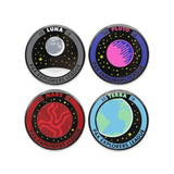 PAX Explorers League Pin Set 1