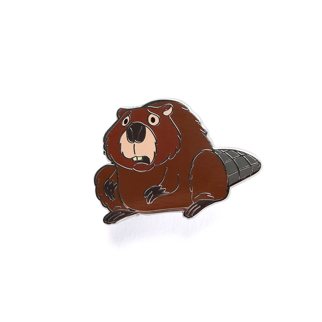 Weedonwantcha Haunted Beaver Pin