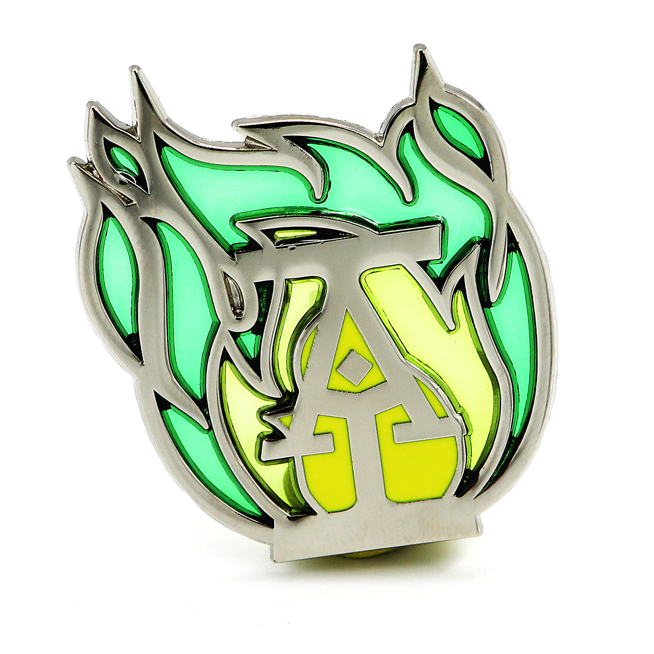 [Pre-Order] Green Flame Pin (Gift with Book Order)