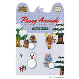 Animal Crossing™ Holiday Pin Set