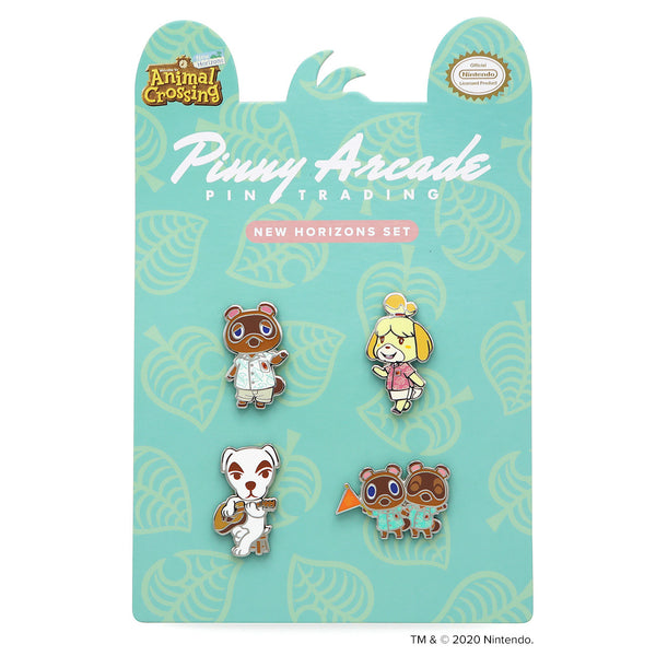Animal Crossing™: New Horizons Pin Set