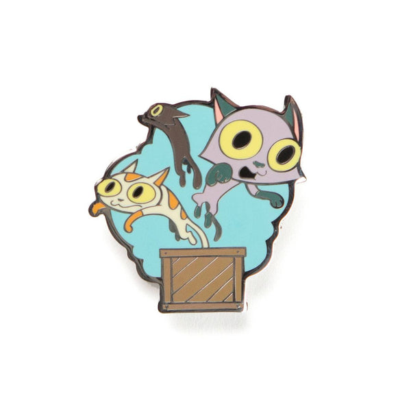 Weedonwantcha Box of Cats 2014 Pin