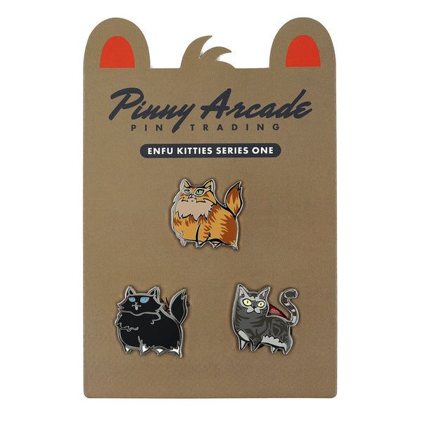 Enfu Kitties Series 1 Pin Set
