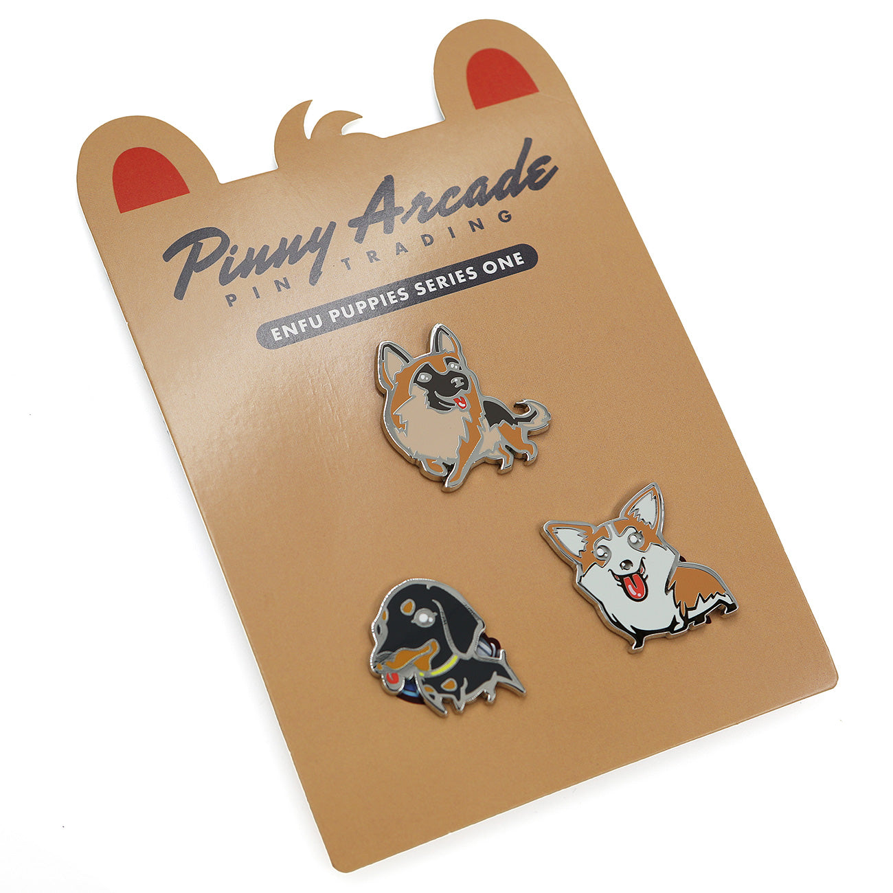 Enfu Puppies Series 1 Pin Set