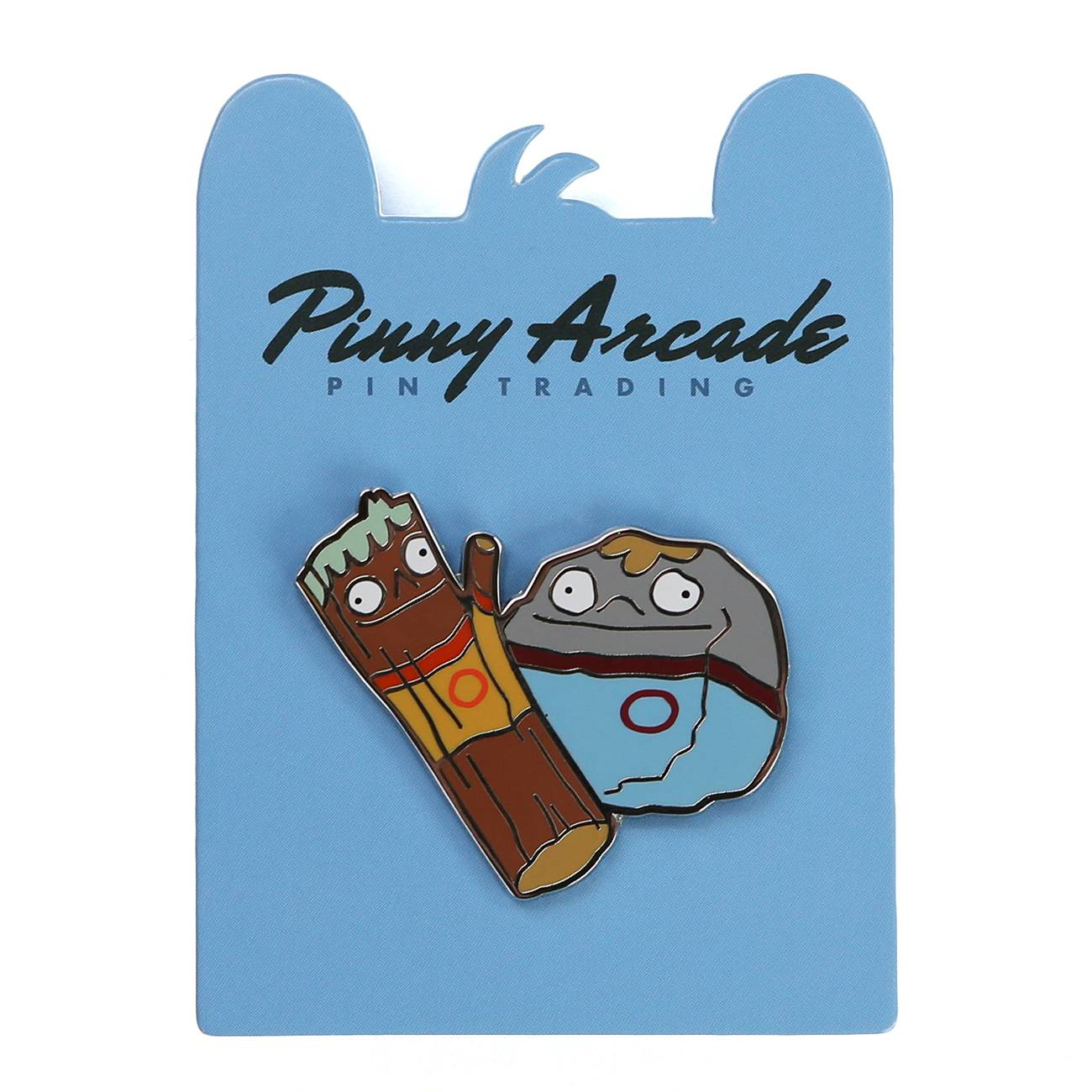 CW Action Figures Pin