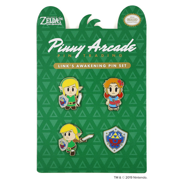 Link's Awakening Pin Set