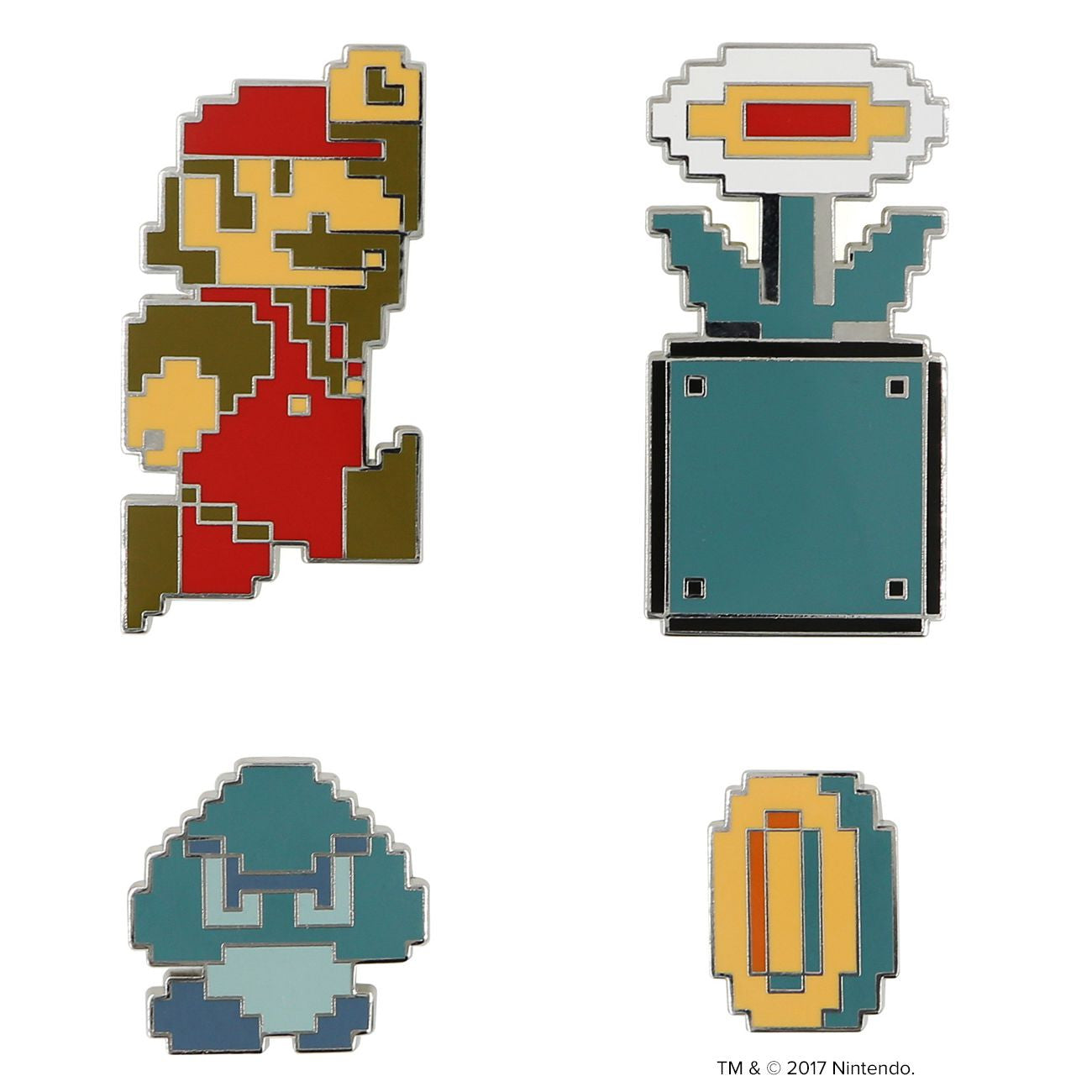 Super Mario Bros.™ World 1-2 Pin Set