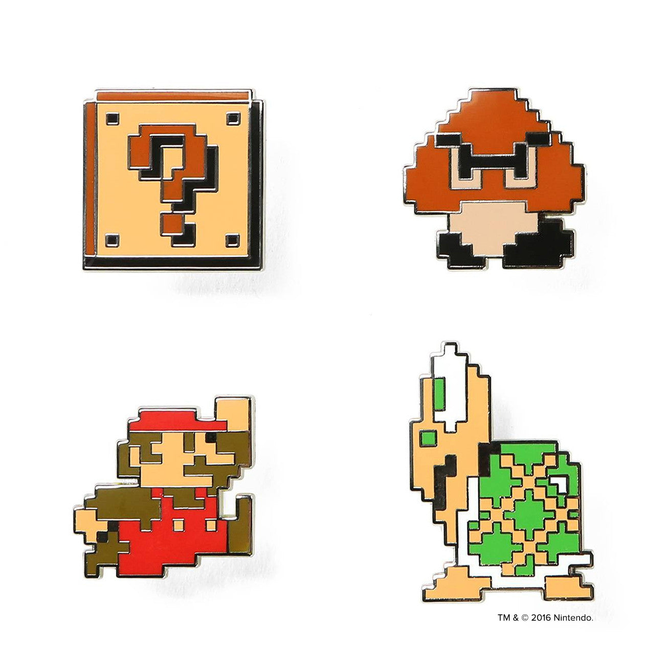 Super Mario Bros.™ World 1-1 Pin Set