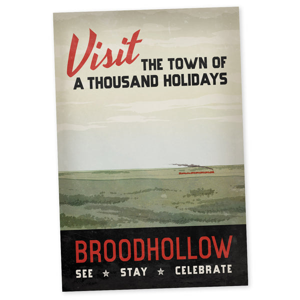 Broodhollow Visit (Poster)