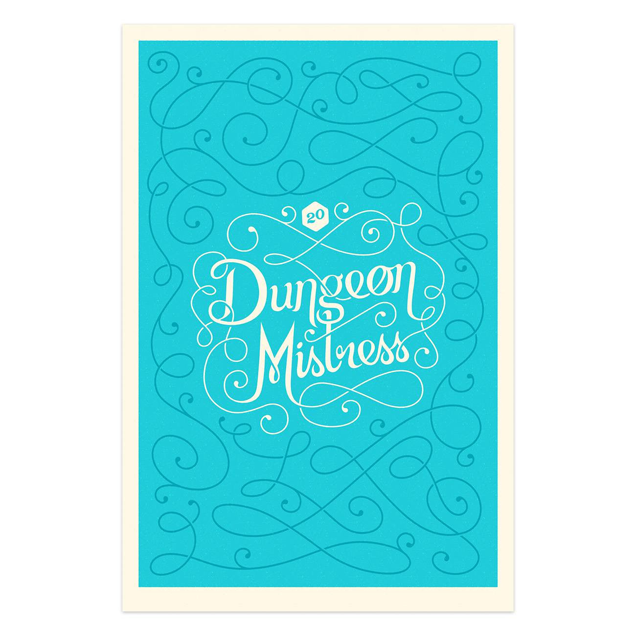 Dungeon Mistress <br />Hand Numbered <br />(Screenprint)