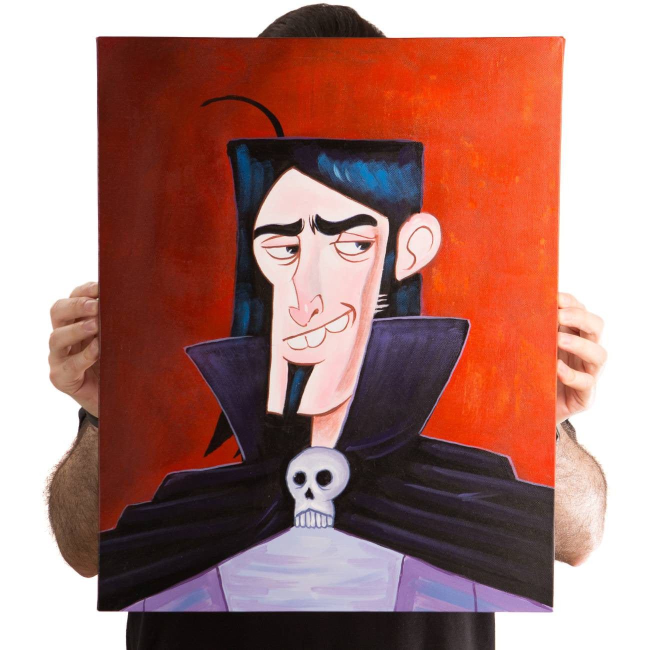 Jim Darkmagic Portrait (Painting)