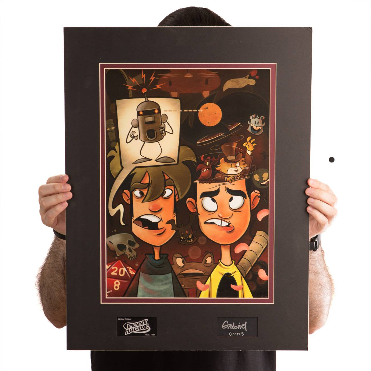 Penny Arcade Art Cel (Limited Edition)