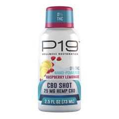 Raspberry lemonade CBD shooter