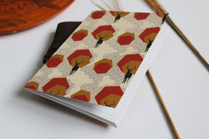 Slimline Notebook - Gazelle Stone