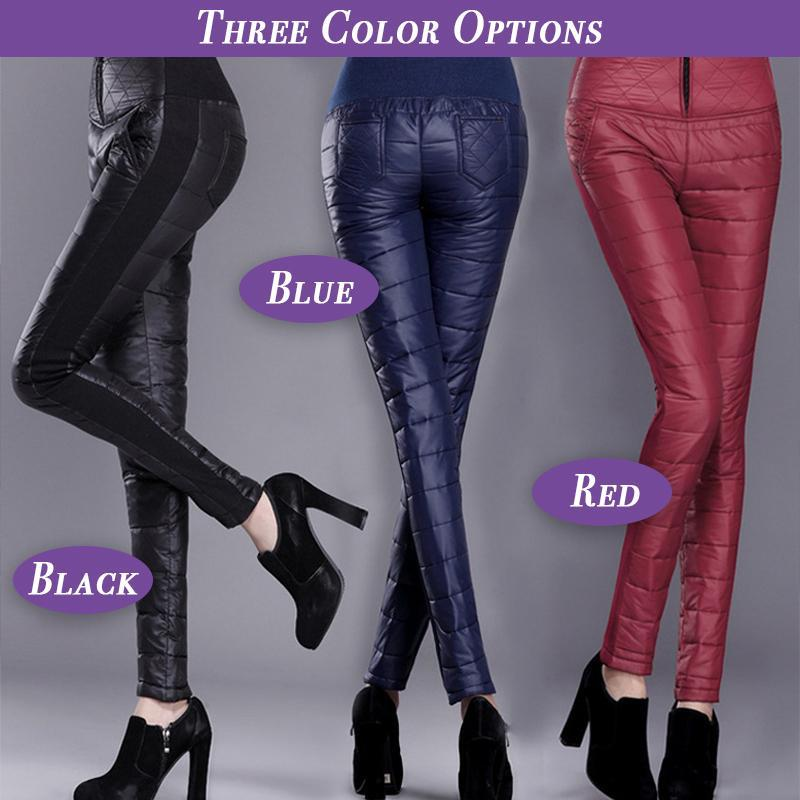 Women High-Waist Winter Pants
