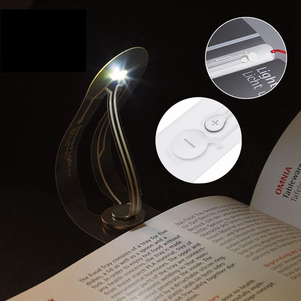 Creative LED Bookmark Lamp (Battery Included)