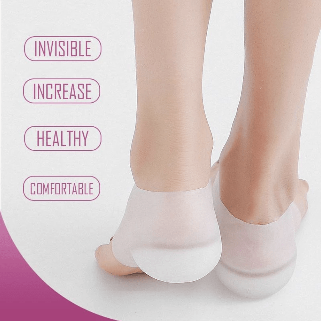 Invisible Height Increase Insole Heel Pads (Pack of 1 Pair)
