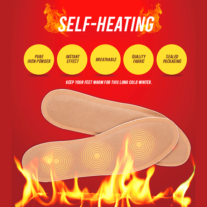 Self-Heating Insoles