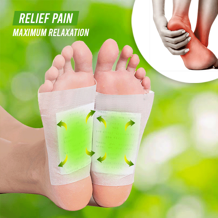 Herbal Detox Foot Patch (Pack of 10pcs)