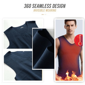 Dual Side Fleece V-neck Vest