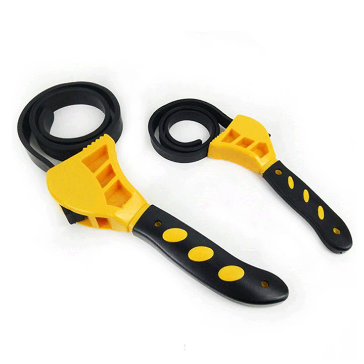 Rubber Strap Wrench Set