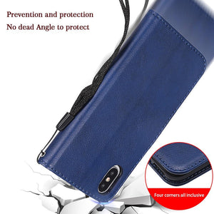 Anti Radiation & RFID Blocking Wallet Iphone Case