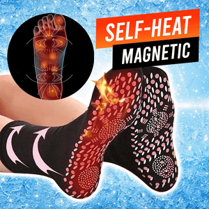 Self-Heating Magnetic Tourmaline Socks