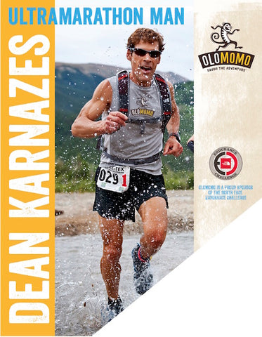 Dena Karnazes, Travel Hacks, Almonds, Cashews, Ultramarathon, Marathon, Runner, OLOMOMO