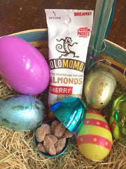 olomomo cherry vanilla almonds for easter