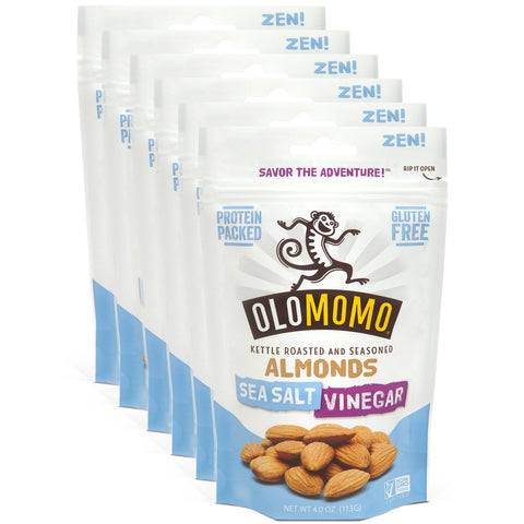 Sea Salt Vinegar Almonds