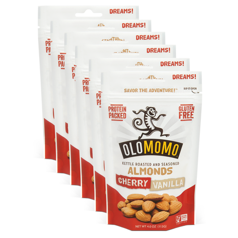 Cherry Vanilla Almonds (6-pack)