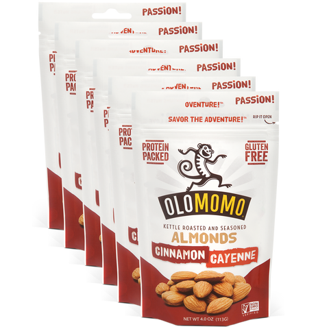 Cinnamon & Cayenne Almonds (6-pack)
