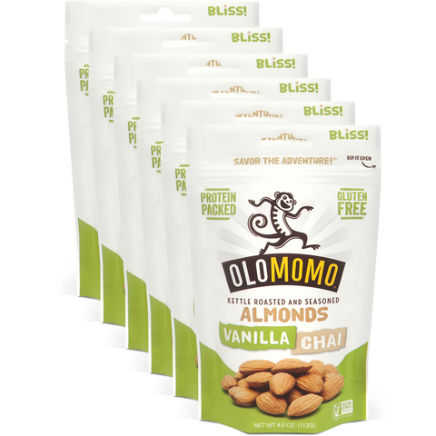 Vanilla Chai Almonds (6-pack)