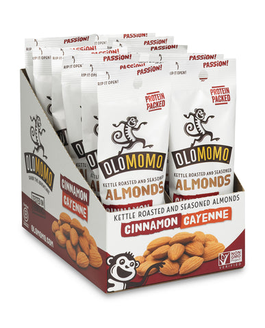 Cinnamon & Cayenne Almonds