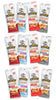 OLOMOMO VARIETY PACK, SINGLE-SERVE, 1.25 OZ BAGS, CASE OF 12 (3 of each flavor)