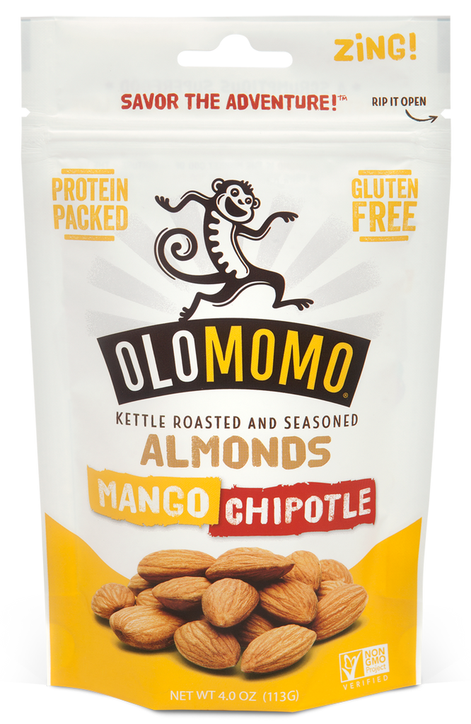 Mango Chipotle Almonds (6-pack)