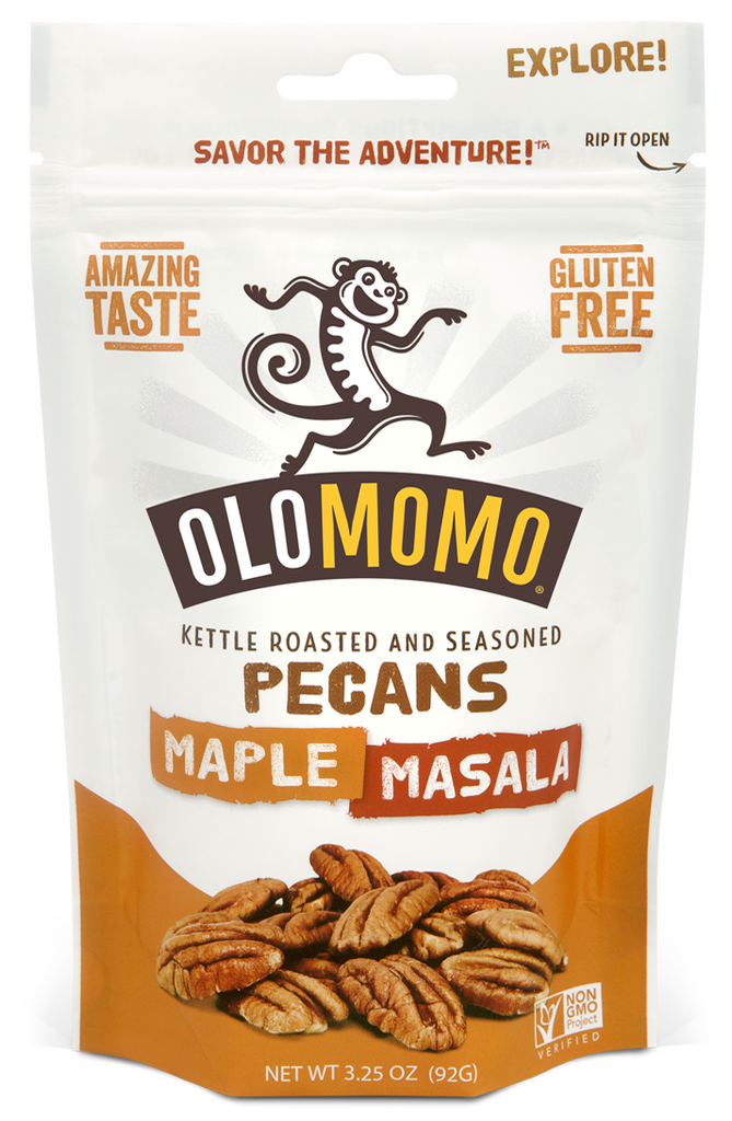 Maple Masala Pecans (6-pack)