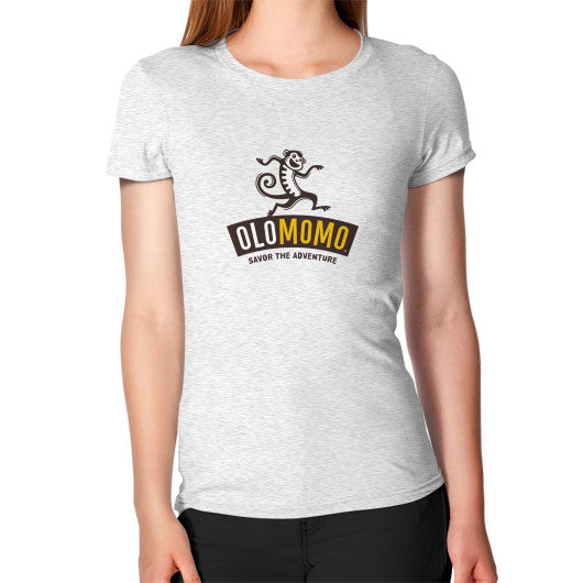 Women's T-Shirt Ash grey OLOMOMO Nut Company