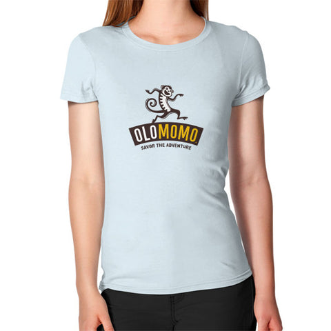 Women's T-Shirt Light blue OLOMOMO Nut Company