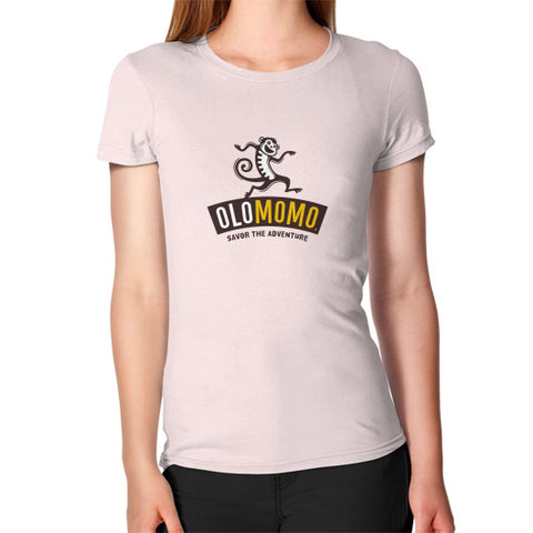 Women's T-Shirt Light pink OLOMOMO Nut Company
