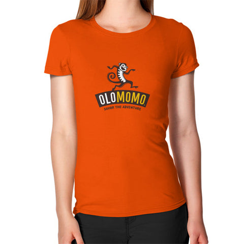 Women's T-Shirt Orange OLOMOMO Nut Company