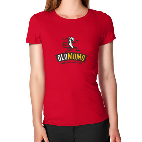 Women's T-Shirt Red OLOMOMO Nut Company