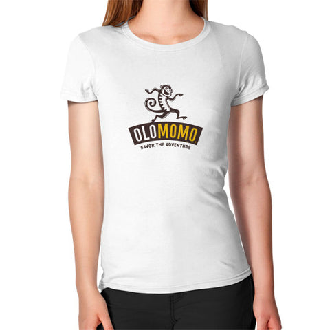Women's T-Shirt White OLOMOMO Nut Company