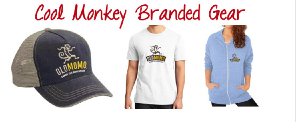 Buy cool olomomo monkey t-shirts and hats