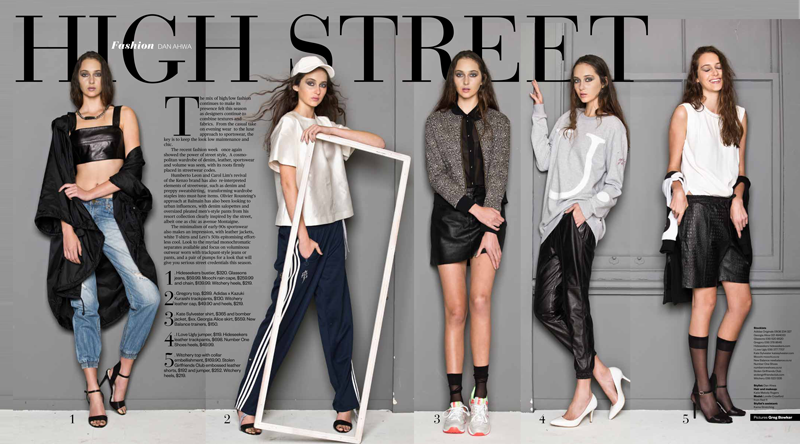 SPORTS LUXE HERALD ON SUNDAY