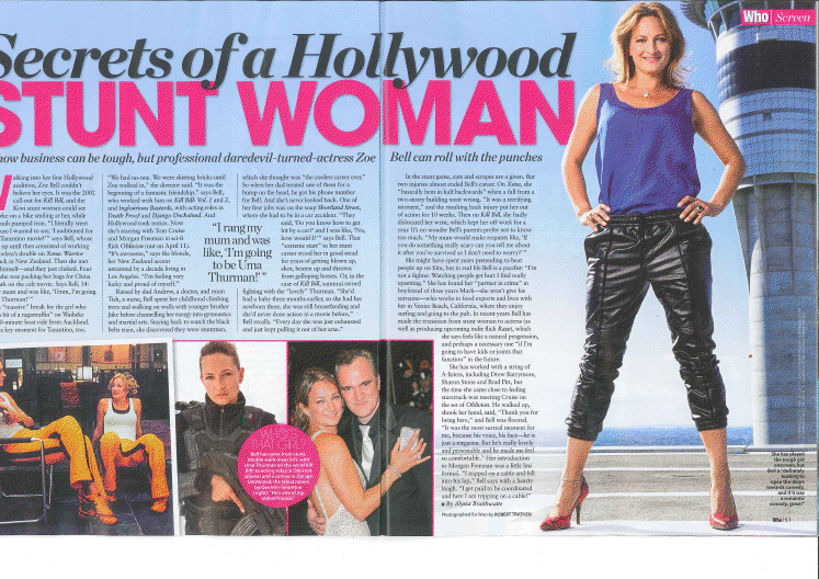 SECRETS OF A HOLLYWOOD STUNT WOMAN