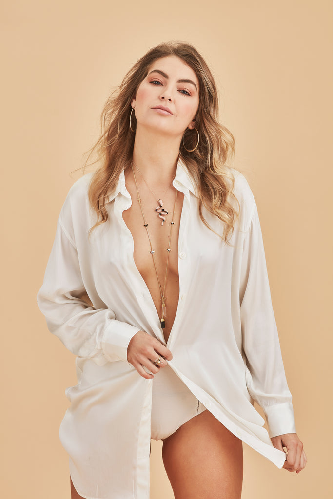 RIVIERA SILK SHIRT