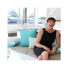 Sarah Egan, founder of Boat Style, Australia. How to decorate and furnish your new boat since 2010.